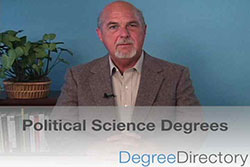 Political Science Degrees - Video