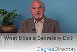 What Does a Secretary Do? - Video