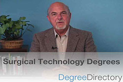 Surgical Technology Degrees - Video