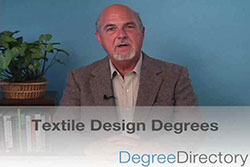 What is a Degree in Textile Design? - Video