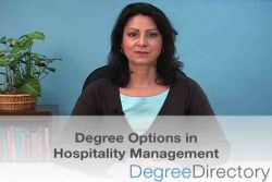 Hospitality Management Degree Options - Video