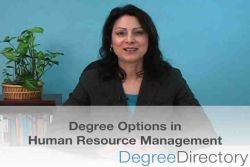 Human Resource Management Degree Options - Video