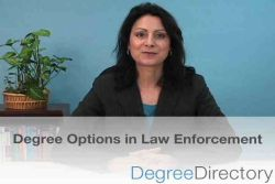 Law Enforcement Degree Options - Video