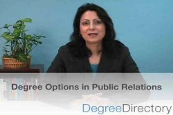 Public Relations Degree Options - Video