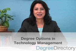 Technology Management Degree Options - Video