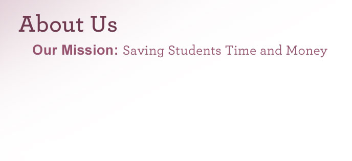 About Learn.org - Our Mission: Saving Students Time and Money
