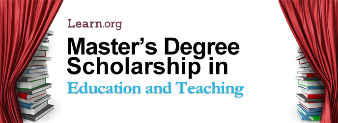 Learn.org Education and Teaching Master's Degree Scholarship