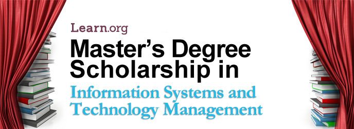 Learn.org Information Systems and Technology Management Master's Degree Scholarship